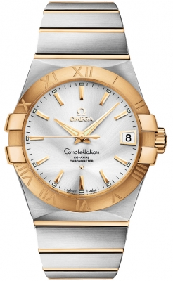 Omega Constellation Co-Axial Automatic 38mm 123.20.38.21.02.002