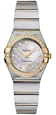 Omega Constellation Brushed 24mm 123.25.24.60.52.002