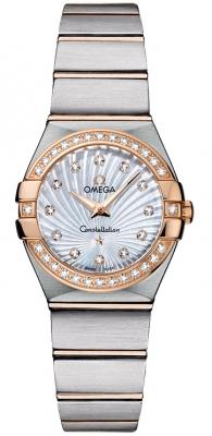 Omega Constellation Brushed 24mm 123.25.24.60.55.002