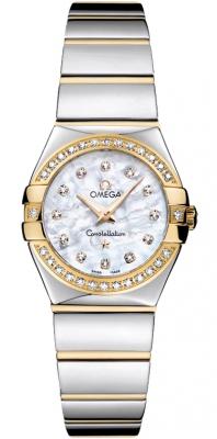 Omega Constellation Polished 24mm 123.25.24.60.55.007