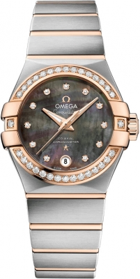 Omega Constellation Co-Axial Automatic 27mm 123.25.27.20.57.006
