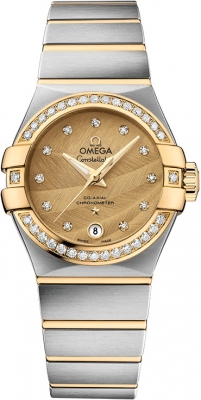 Omega Constellation Co-Axial Automatic 27mm 123.25.27.20.58.002