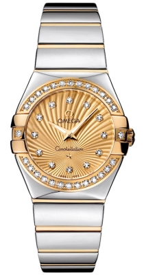 Omega Constellation Polished 27mm 123.25.27.60.58.002
