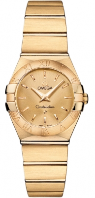 Omega Constellation Brushed 24mm 123.50.24.60.08.001