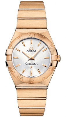 Omega Constellation Brushed 27mm 123.50.27.60.02.001