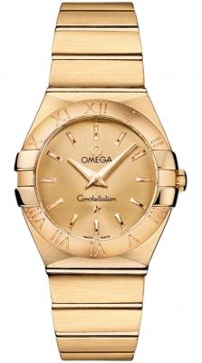 Omega Constellation Brushed 27mm 123.50.27.60.08.001