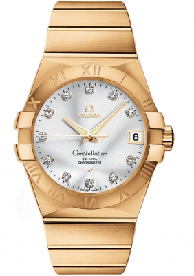 Omega Constellation Co-Axial Automatic 38mm 123.50.38.21.52.002