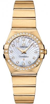 Omega Constellation Brushed 24mm 123.55.24.60.55.003