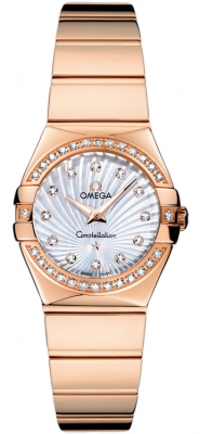 Omega Constellation Polished 24mm 123.55.24.60.55.005