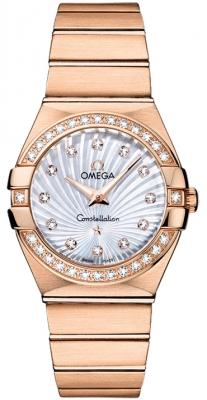Omega Constellation Brushed 27mm 123.55.27.60.55.001
