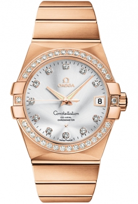 Omega Constellation Co-Axial Automatic 38mm 123.55.38.21.52.001