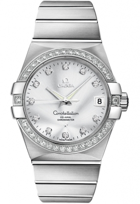 Omega Constellation 18kt White Gold