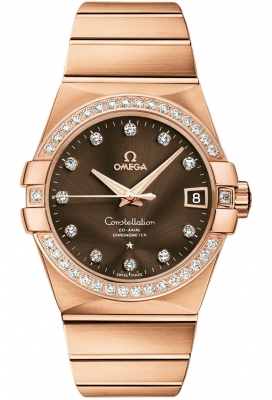 Omega Constellation Co-Axial Automatic 38mm 123.55.38.21.63.001