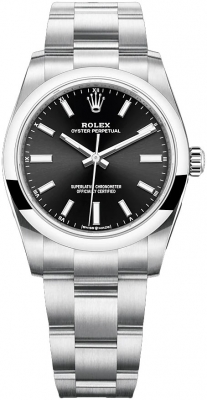 Rolex Oyster Perpetual 34mm 124200 Black