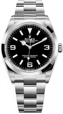 Rolex Explorer 36mm 124270 Black