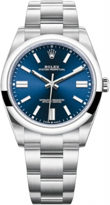 Rolex Oyster Perpetual 41mm 124300 Blue