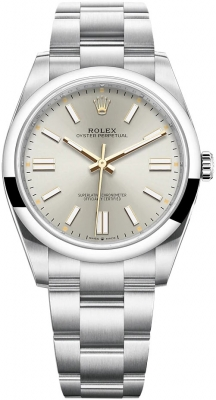 Rolex Oyster Perpetual 41mm 124300 Silver