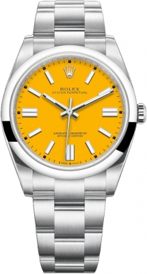 Rolex Oyster Perpetual 41mm 124300 Yellow