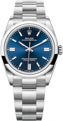 Rolex Oyster Perpetual 36mm 126000 Blue