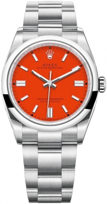 Rolex Oyster Perpetual 36mm 126000 Coral Red