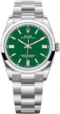 Rolex Oyster Perpetual 36mm 126000 Green