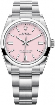 Rolex Oyster Perpetual 36mm 126000 Candy Pink