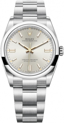 Rolex Oyster Perpetual 36mm 126000 Silver