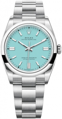Rolex Oyster Perpetual 36mm 126000 Turquoise Blue