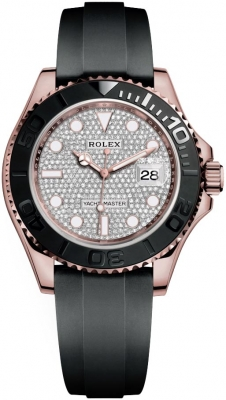 Rolex Yacht-Master 40mm 126655 Pave Diamond