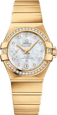Omega Constellation Co-Axial Automatic Small Seconds 27mm 127.55.27.20.55.002