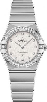 Omega Constellation Manhattan Quartz 25mm 131.15.25.60.52.001