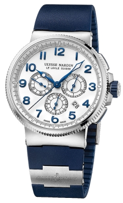 Ulysse Nardin Marine Chronograph Manufacture 43mm 1503-150-3/60