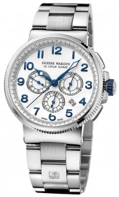 Ulysse Nardin Marine Chronograph Manufacture 43mm 1503-150-7m/60