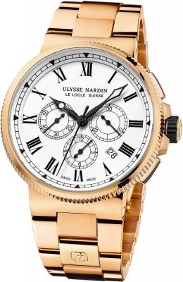 Ulysse Nardin Marine Chronograph Manufacture 43mm 1506-150-8m/LE