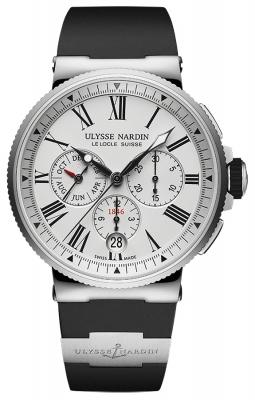 Ulysse Nardin Marine Chronograph Annual Calendar 43mm 1533-150-3/40