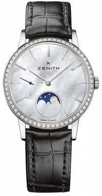 Zenith Elite Ultra Thin Lady Moonphase 36mm 16.2320.692/80.c714