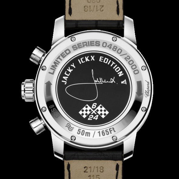 Chopard Mille Miglia Automatic Chronograph 168543-3001 JACKY ICKX EDITION V  · Case Back a79584fd426a