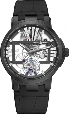 Ulysse Nardin Executive Skeleton Tourbillon 45mm 1713-139/MAGIC-BLACK
