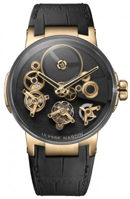 Ulysse Nardin Executive Tourbillon Free Wheel 44mm 1766-176