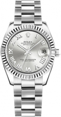 Rolex Datejust 31mm Stainless Steel 178274 Silver Roman Oyster