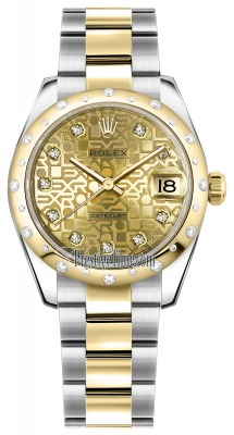 178343 Jubilee Champagne Diamond Oyster