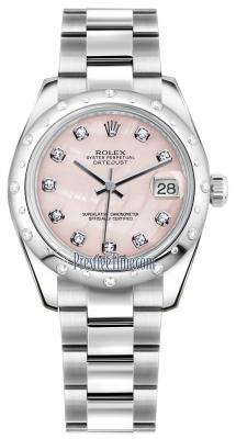 178344 Pink MOP Diamond Oyster