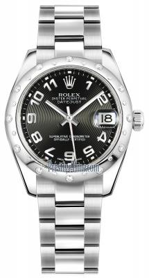 178344 Black Concentric Arabic Oyster