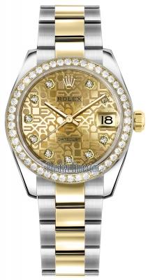 178383 Jubilee Champagne Diamond Oyster