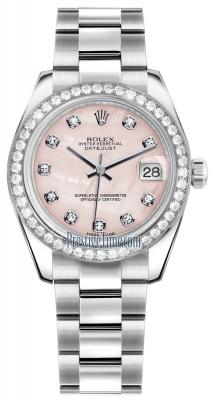 178384 Pink MOP Diamond Oyster