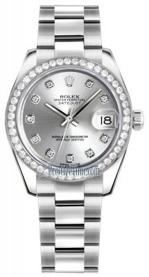 178384 Silver Diamond Oyster