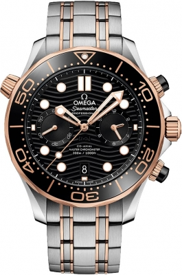 Omega Seamaster Diver 300m Co-Axial Master Chronometer Chronograph 44mm 210.20.44.51.01.001
