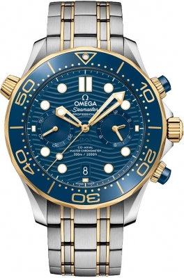 Omega Seamaster Diver 300m Co-Axial Master Chronometer Chronograph 44mm 210.20.44.51.03.001