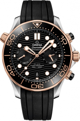 Omega Seamaster Diver 300m Co-Axial Master Chronometer Chronograph 44mm 210.22.44.51.01.001