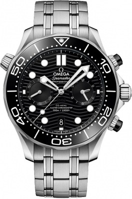 Omega Seamaster Diver 300m Co-Axial Master Chronometer Chronograph 44mm 210.30.44.51.01.001